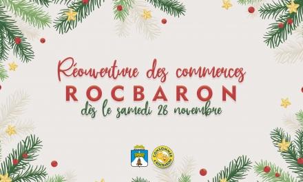 Réouverture des commerces - samedi 28 novembre