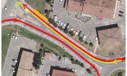 INFORMATIONS déplacement arrêt de bus !