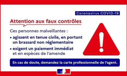 INFORMATIONS DE LA GENDARMERIE DU VAR