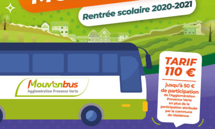 Inscriptions MOUV'ENBUS rentrée scolaire 2020-2021