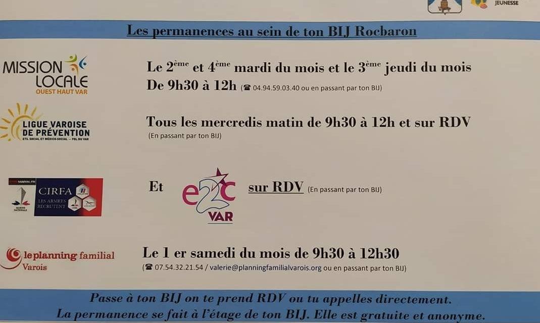 LE BUREAU INFORMATION JEUNESSE A RÉOUVERT SES PORTES DEPUIS LUNDI