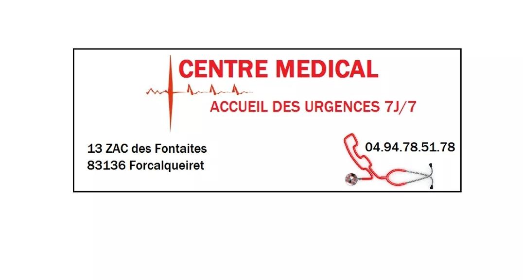 COMMUNIQUÉ DU CENTRE MÉDICAL D'URGENCE