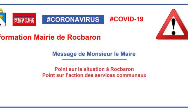 Message de Monsieur le Maire Jean-Claude FELIX