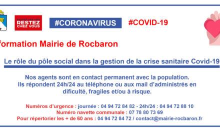 Le rôle du pôle social dans la gestion de la crise sanitaire Covid-19