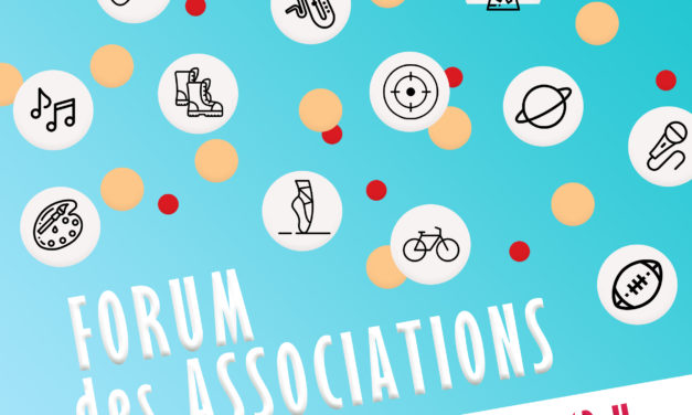 FORUM DES ASSOCIATIONS SAMEDI 5 SEPTEMBRE