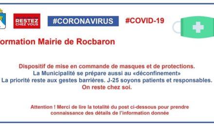 LE COLLECTIF COVID83 A REMIS DES VISIÈRES DE PROTECTION À L'ENSEMBLE DES SERVICES COMMUNAUX EN CONTACT AVEC LES ADMNISTRÉS